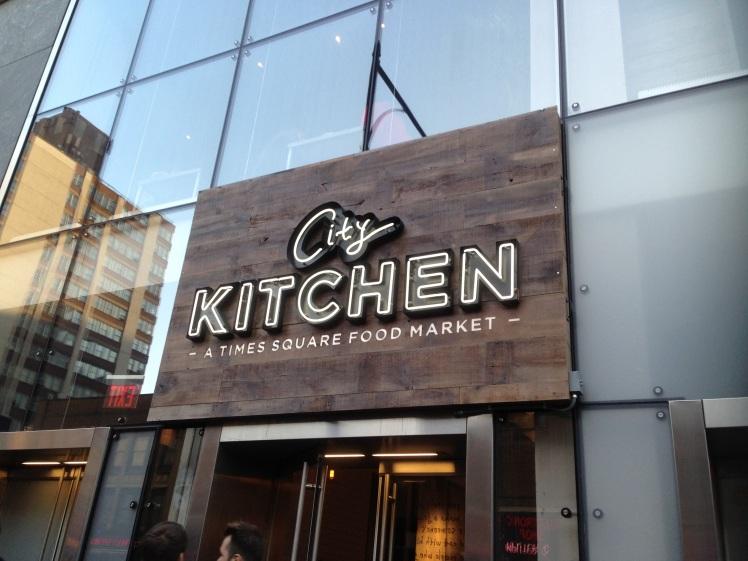 City Kitchen entrance