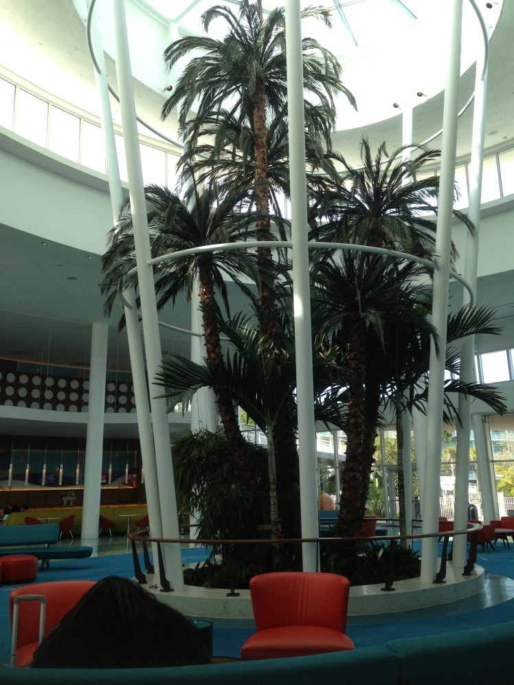Cabana Bay Beach Resort; the lobby
