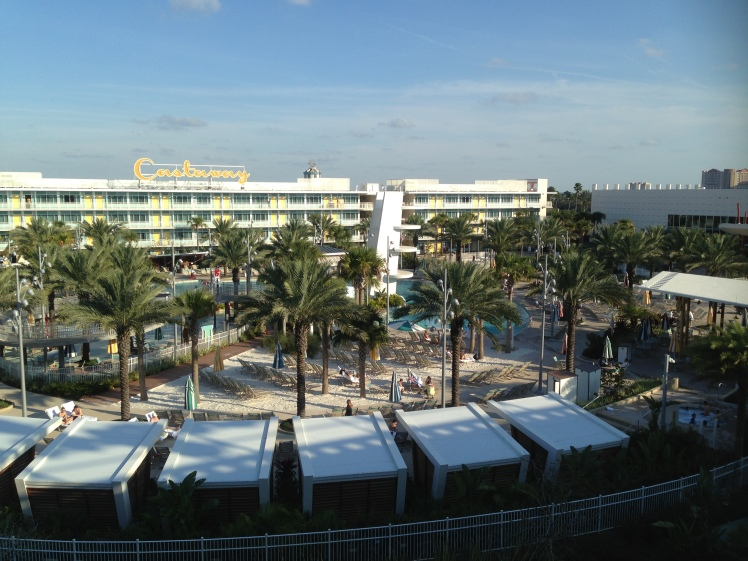 Cabana Bay Beach Resort' The view