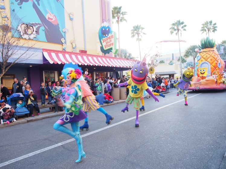 Universal Studio; the parade
