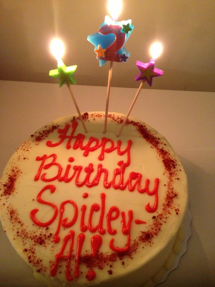 My baby's Red Velvet Cake