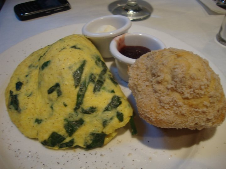 Farmers Omelette with muffin