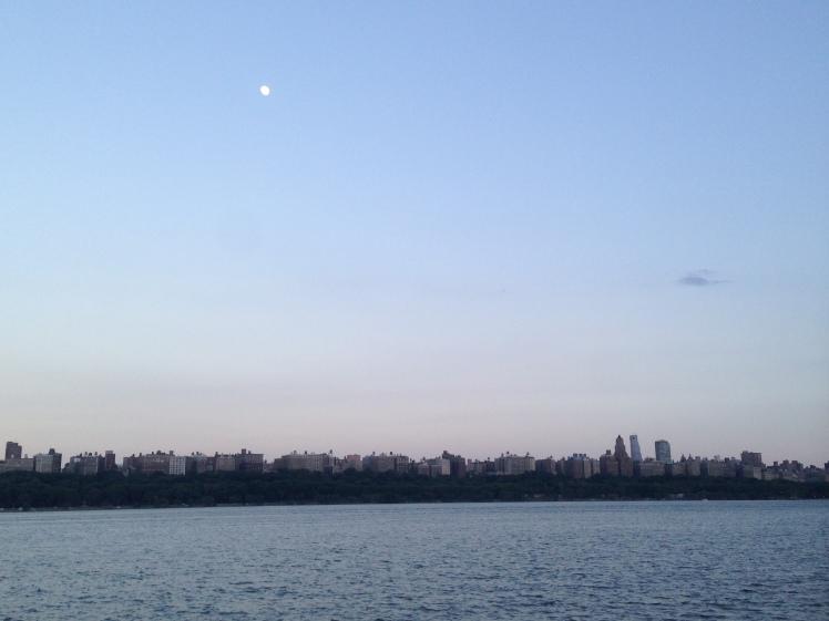 Hudson River; from NJ side