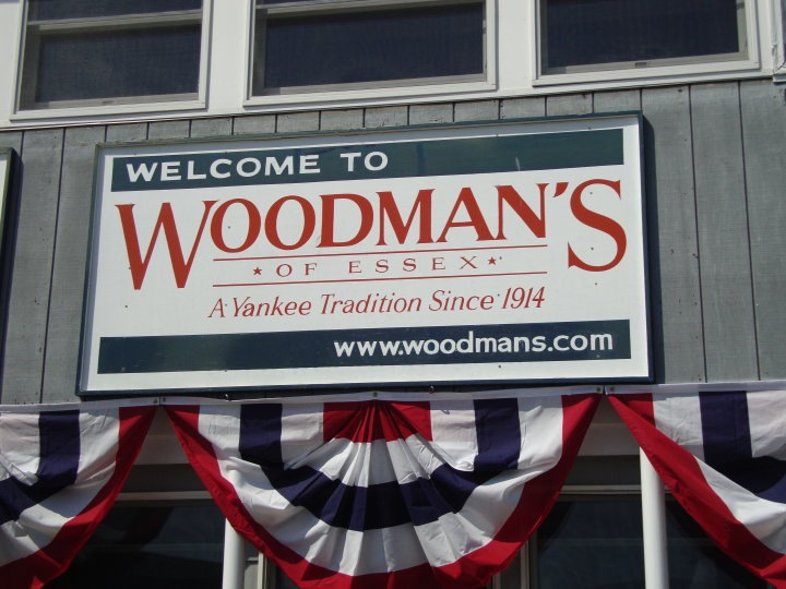 Welcome to Woodman's (121 Main St, Essex, MA)