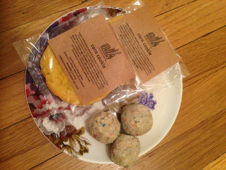 some cookies and bday truffles