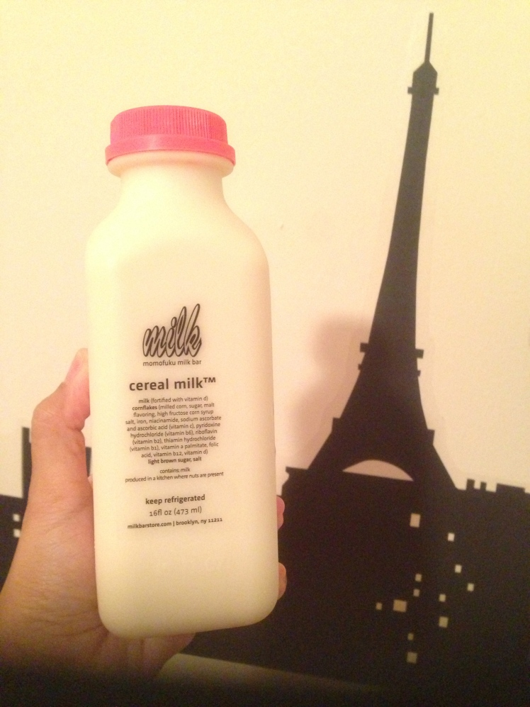 Although I said i prefer the ice cream, the milk is also a must-buy-item so I just have it everytime i visit the store
