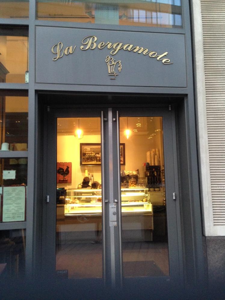 La Bergamote; the entrance