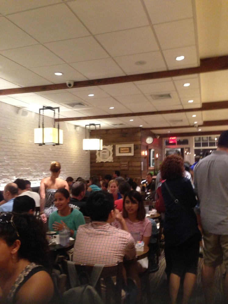 Martha's is always full!