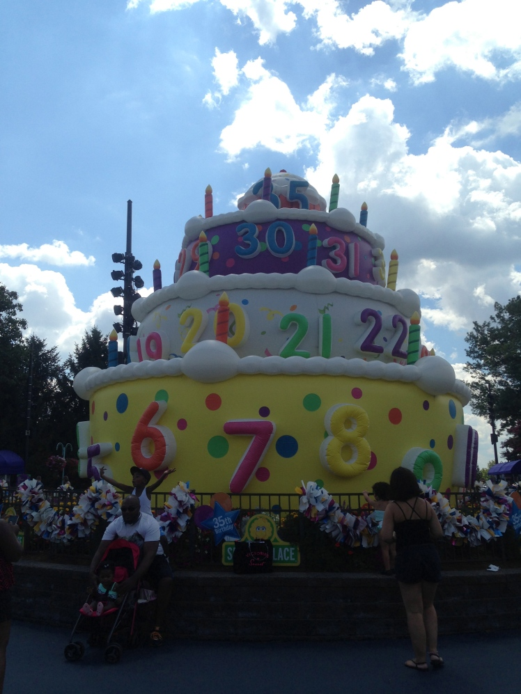 Sesame Place was celebrating its 35th birthday
