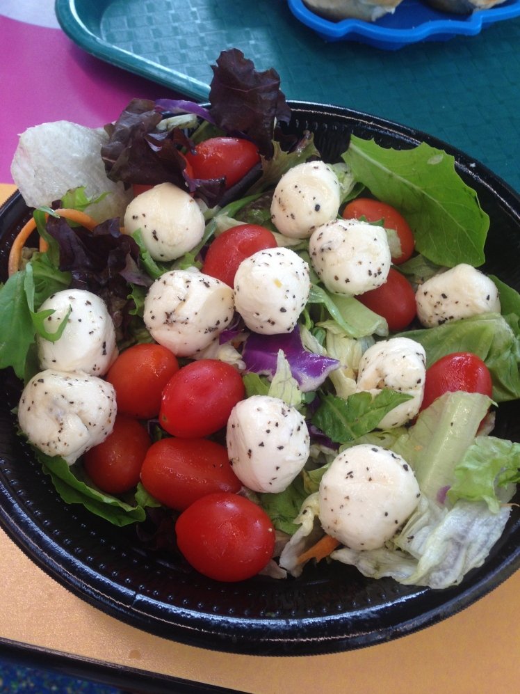 Mozzarella & Tomato Salad ($12 including drinks)