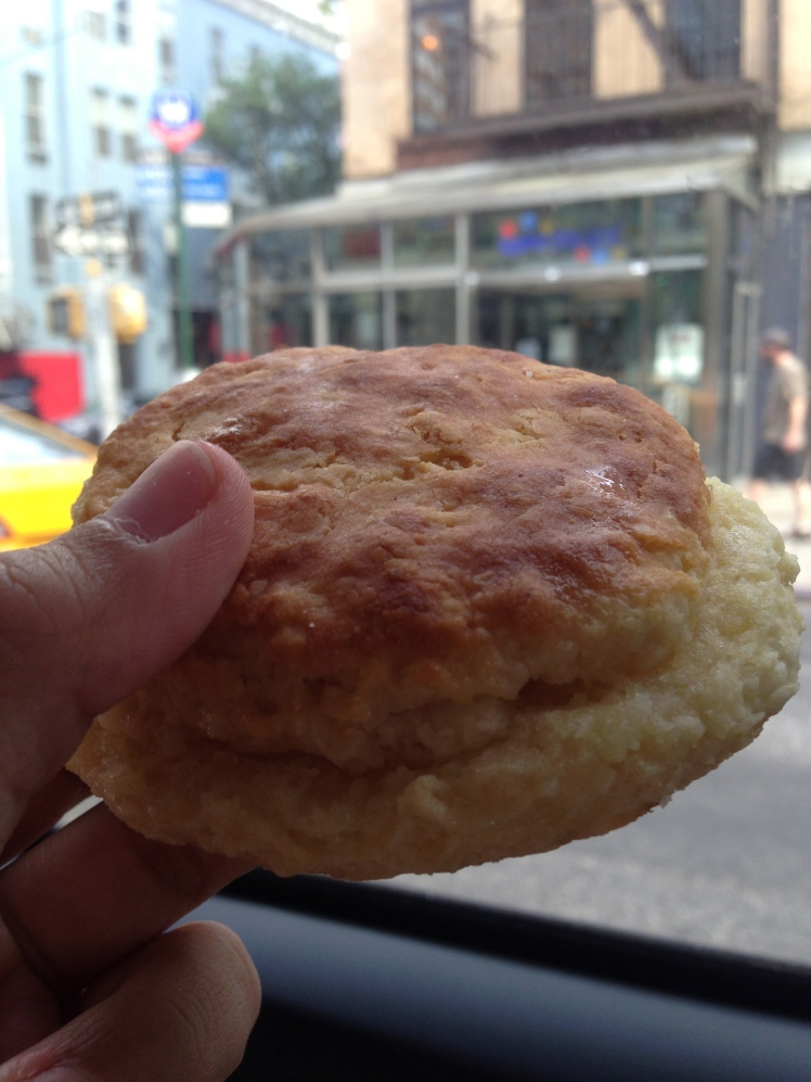 Biscuit with honey and butter <3