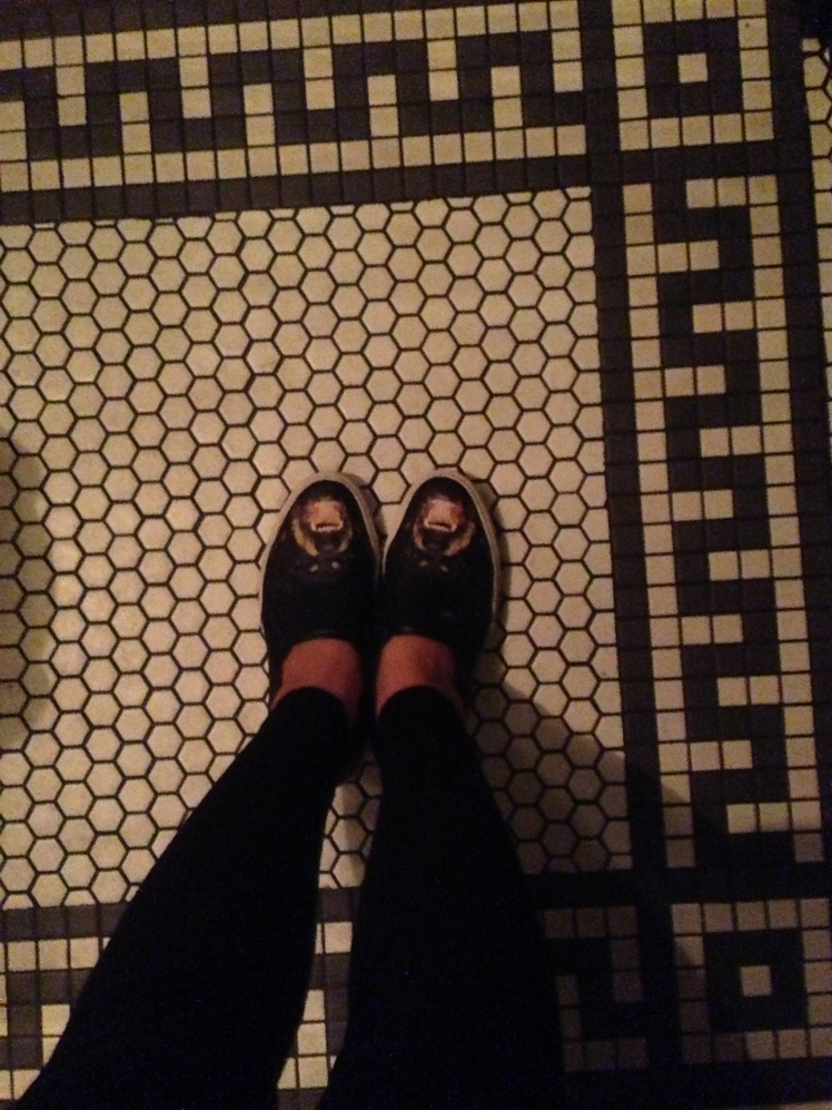 and the tiles too!