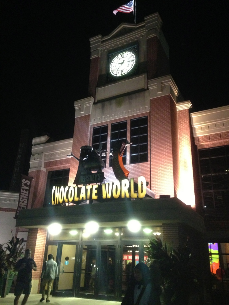 Hershey's Chocolate World entrance