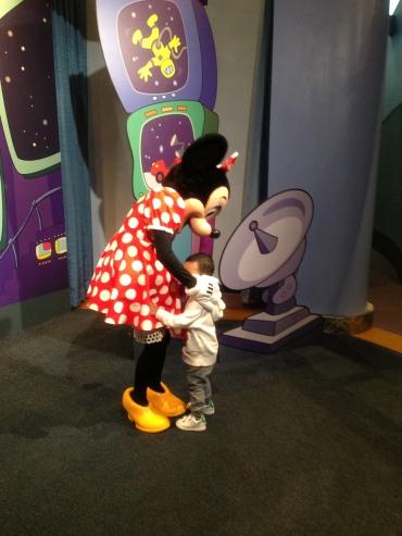mandatory photo with Minnie